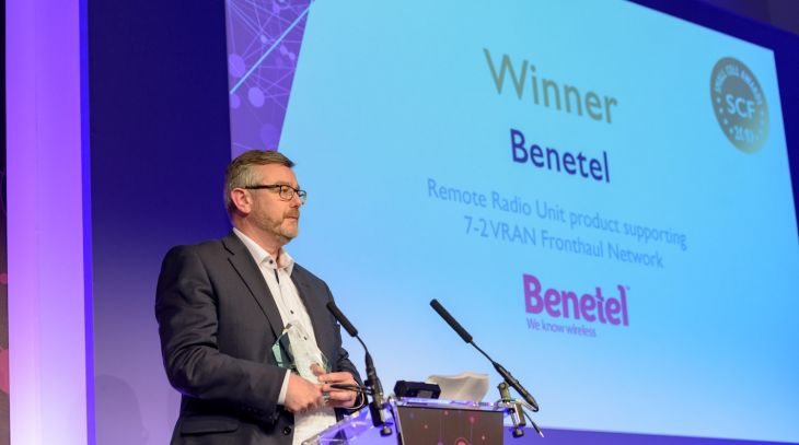 Benetel – Winner at SCF Small Cell Awards 2019 | Benetel